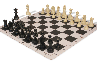 Plastic Chess Sets with Thin Floppy Board