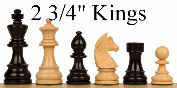 "Chess Sets with 2.75"" King"