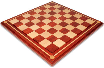 Mission Craft Solid Padauk & Maple Chess Boards