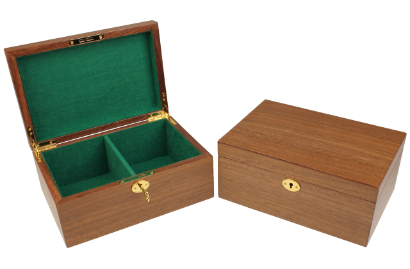 Wood Chess Boxes