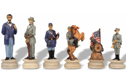 Civil War Theme Chess Pieces