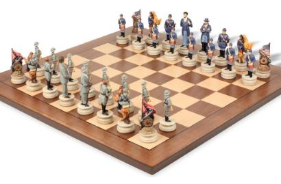 Civil War Theme Chess Sets