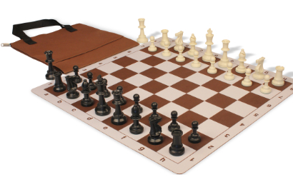 The Easy-Carry Thin Floppy Board Chess Sets