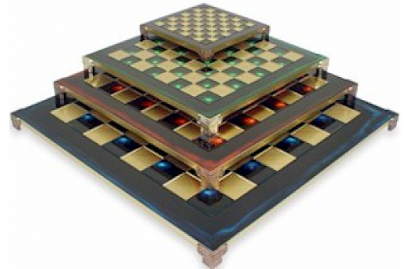 Metal Chess Boards