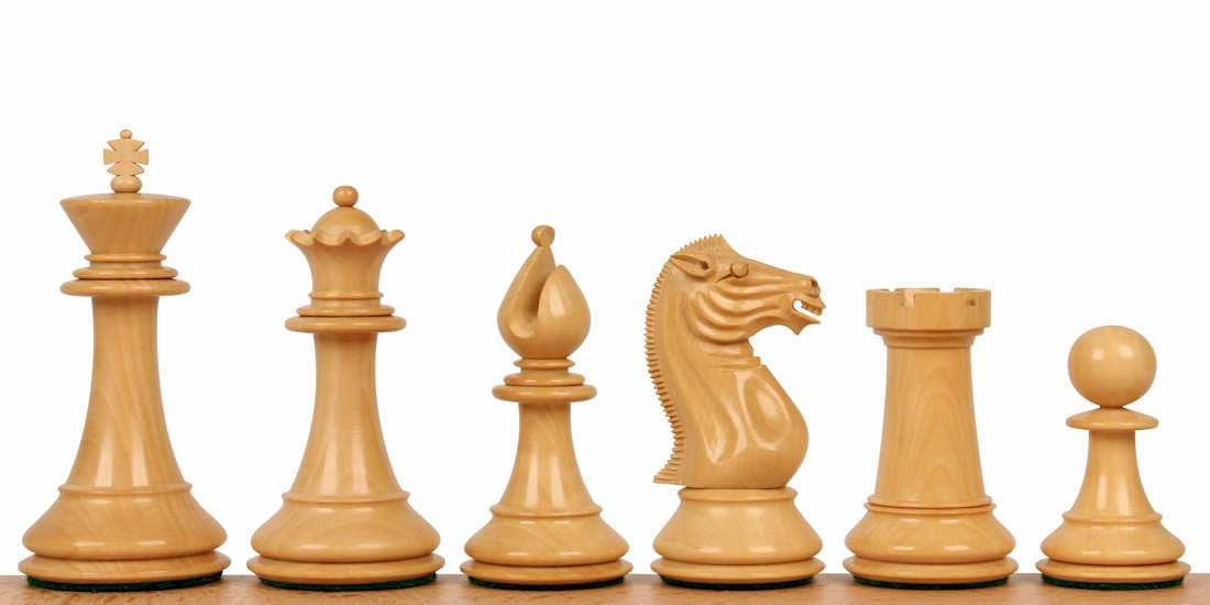 Pershing Staunton Chess Pieces