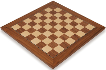 Walnut & Maple Deluxe Chess Boards