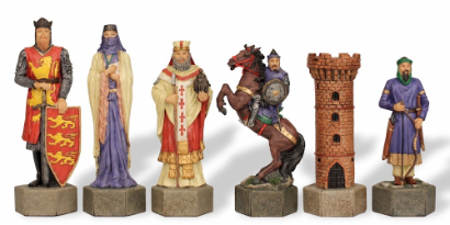 Theme Chess Pieces