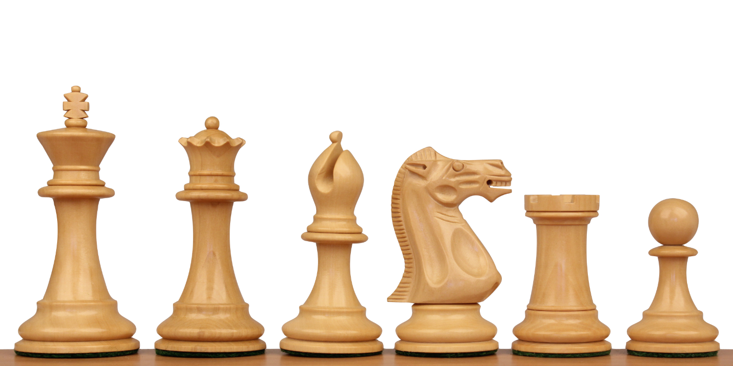 Grande Staunton Chess Pieces