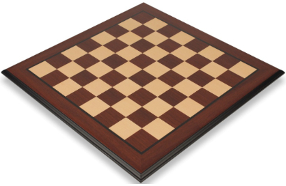 Bud Rosewood & Maple Molded Edge Chess Boards