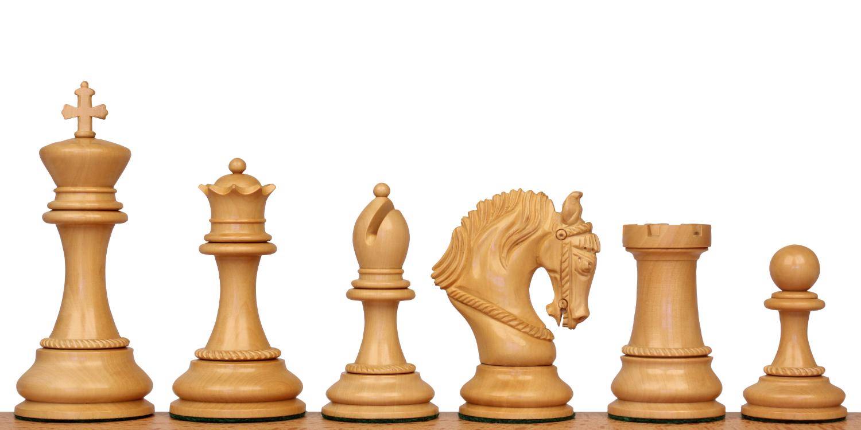 Hengroen Staunton Wood Chess Pieces