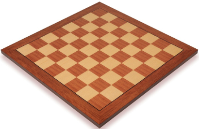 Classic Mahogany & Maple Chess Boards
