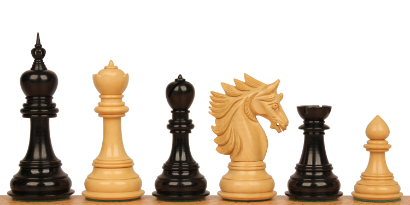 Luxury Wood Chess Pieces