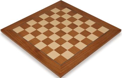Teak & Maple Deluxe Chess Boards