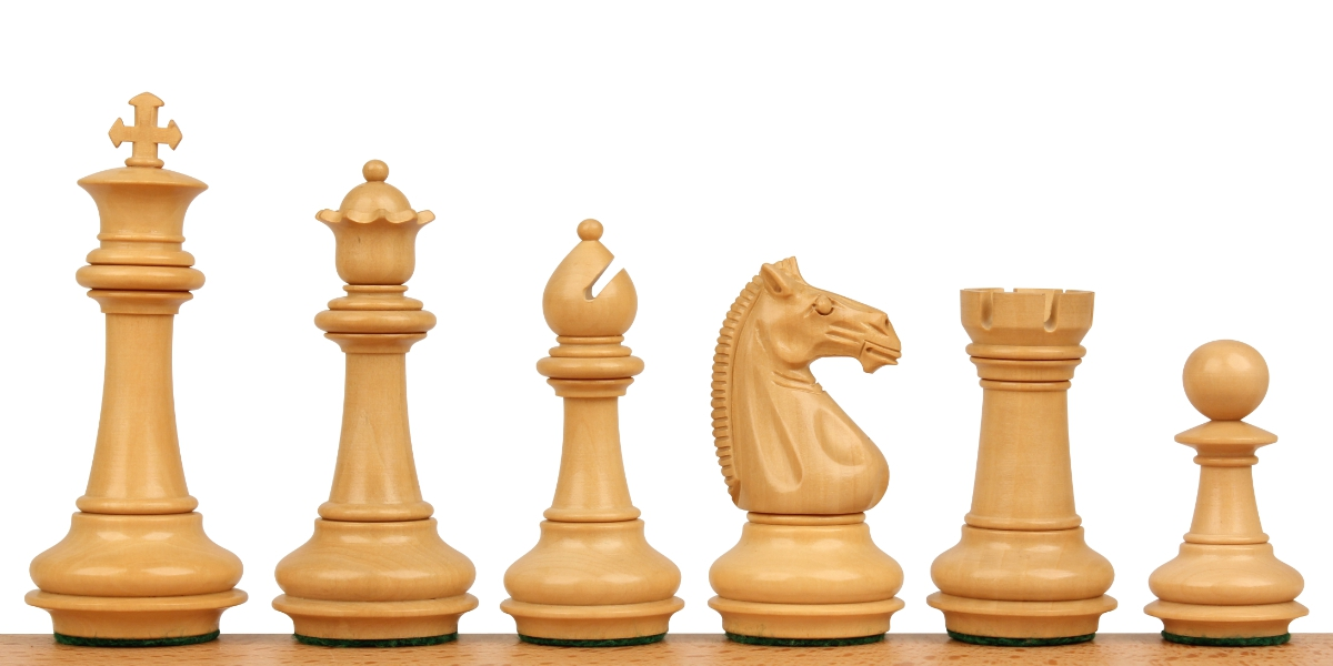 Khan's Stallion Staunton Chess Pieces