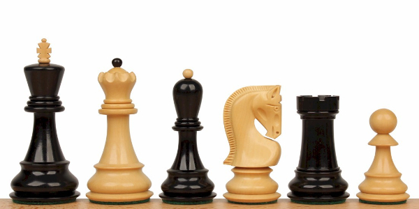 Ebony & Boxwood Chess Pieces