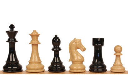 Spruce Tek Resin Chess Pieces