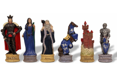 Fictional Character Theme Chess Pieces
