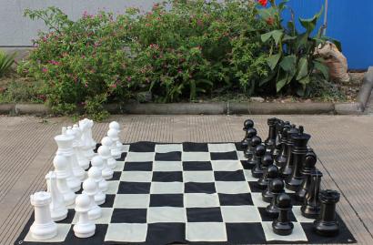 Garden Chess Sets
