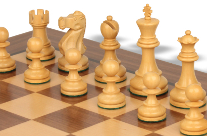 Deluxe Old Club Staunton Chess Sets