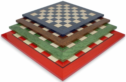 Colorful Wood Chess Boards