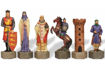 Polystone Theme Chess Pieces