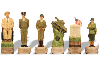 American History Theme Chess Pieces