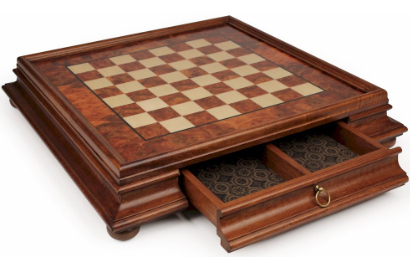 Wood Chess Cases