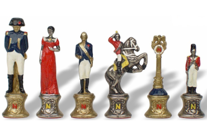 Napoleon Themed Chess Pieces