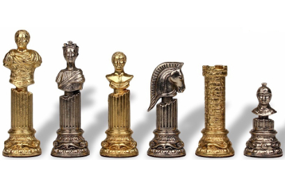 Roman Theme Chess Pieces