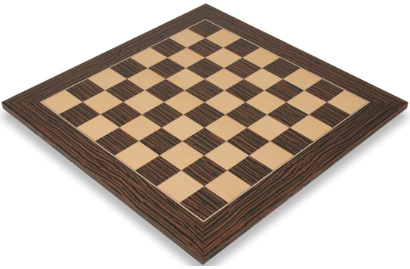 Tiger Ebony & Maple Deluxe Chess Boards