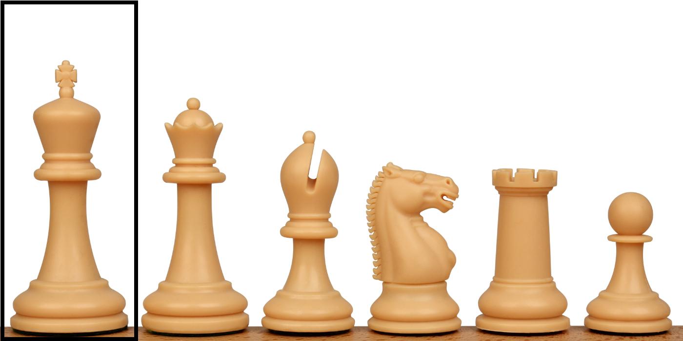 Replacement Pieces Zukert Plastic Chess Set