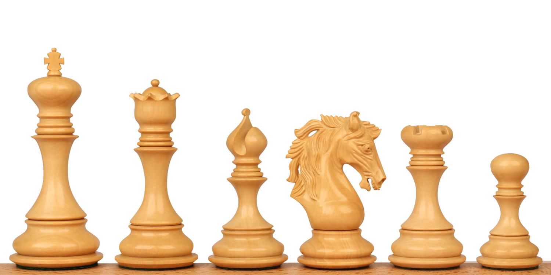 Palomo Staunton Wood Chess Pieces