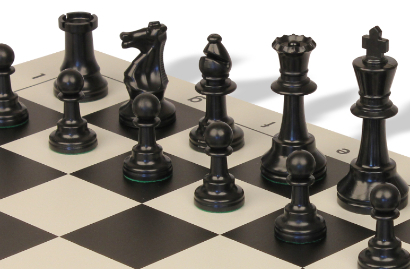Standard Club Plastic Chess Sets