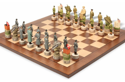 American History Theme Chess Sets