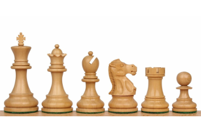Deluxe Old Club Staunton Chess Pieces