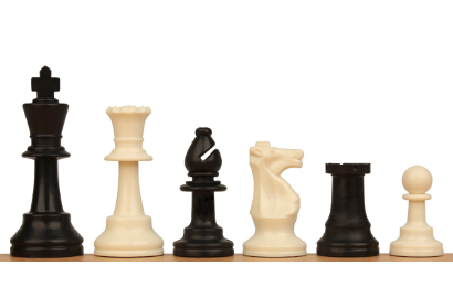 Standard Club Plastic Chess Pieces