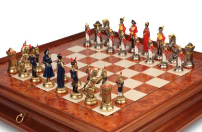 Napoleon Theme Chess Sets