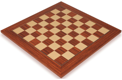 Rosewood & Maple Deluxe Chess Boards
