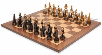 Egyptian II Theme Chess Set Package