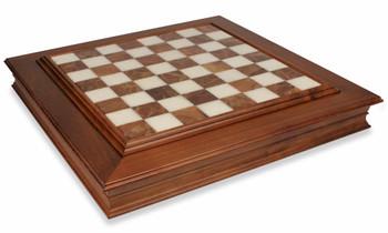 Alabaster Chess Case