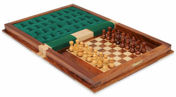 Book Style Magnetic Travel Chess Set 9
