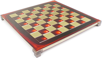 Brass Red Chess Board 2125 Squares