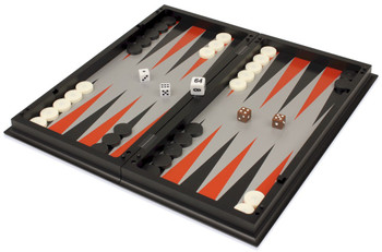 Backgammon Chess Checkers Folding Magnetic Travel Set 125