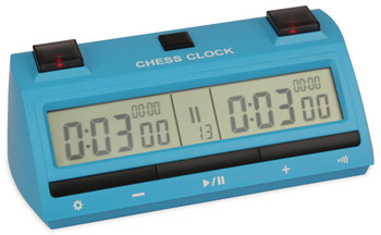 DT25 Digital Chess Clock Blue