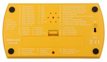 DT25 Digital Chess Clock Yellow