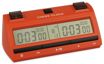 DT25 Digital Chess Clock Red