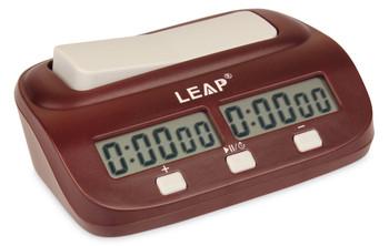 DT19 Leap Digital Chess Clock Brown