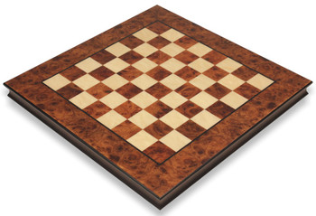 Elm Root Maple Thick Chess Board 2 Squares