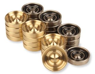 Brass Nickel Checkers 175