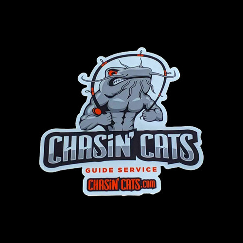 Catfish Decal | Chasin' Cats